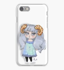 angry chibi iPhone Case/Skin
