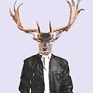 Fashionable Deer Illustration by Alemi