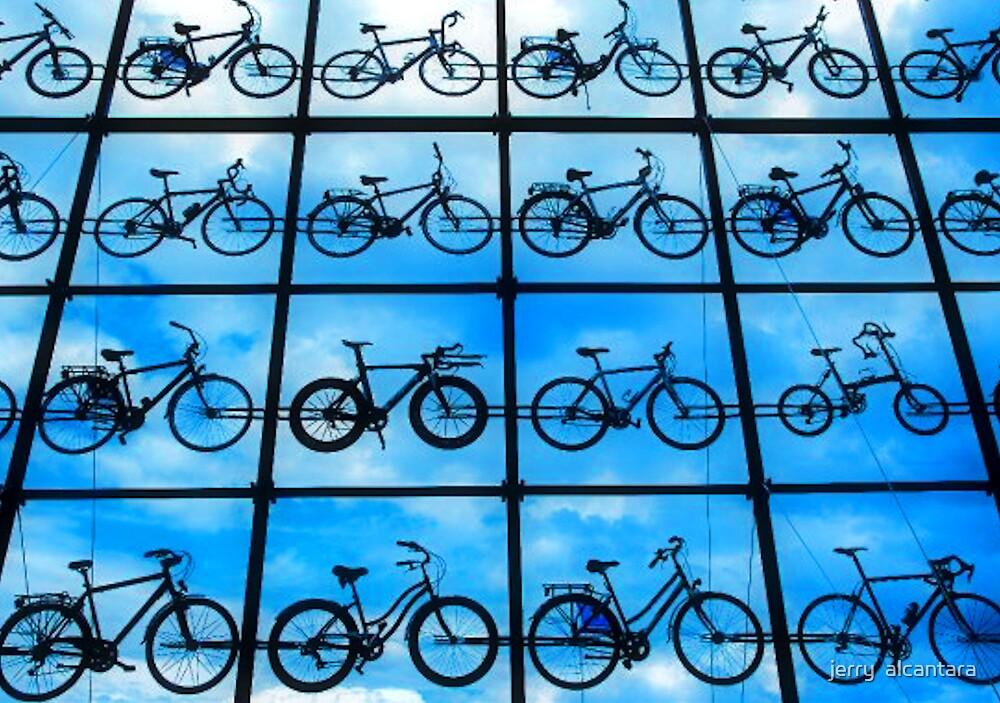 Won't you ride my Bikes by jerry  alcantara