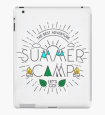 Summer Camp - Born for Adtentures iPad Case/Skin