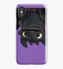 Upside Down Toothless iPhone Case