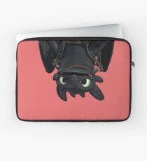 Upside Down Toothless Laptop Sleeve