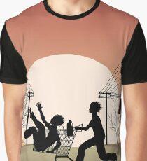 Sunset Suburban Graphic T-Shirt