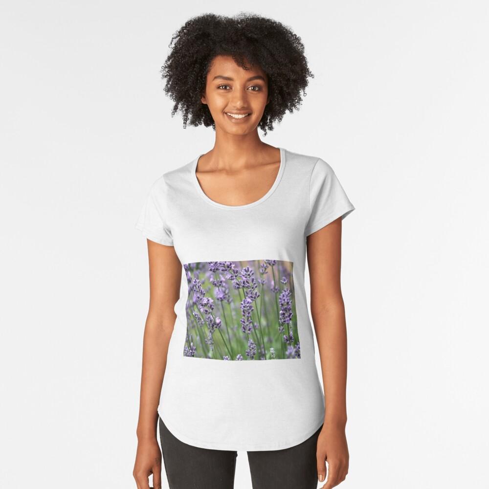 Lavender Plant Women's Premium T-Shirt Front