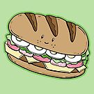 Healthy sandwich pattern by Dewychan
