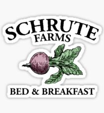 SCHRUTE FARMS | BED AND BREAKFAST Sticker