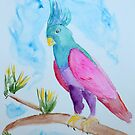 Bird of Many Colors by lisavonbiela