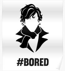 Bored Sherlock Poster