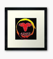 aries! Framed Print