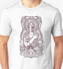 Camiseta unisex Delicias violentas