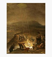 UFOs, in Ancient Art, Baptism of Christ, 1710, Painting by, Aert de Gelder Photographic Print