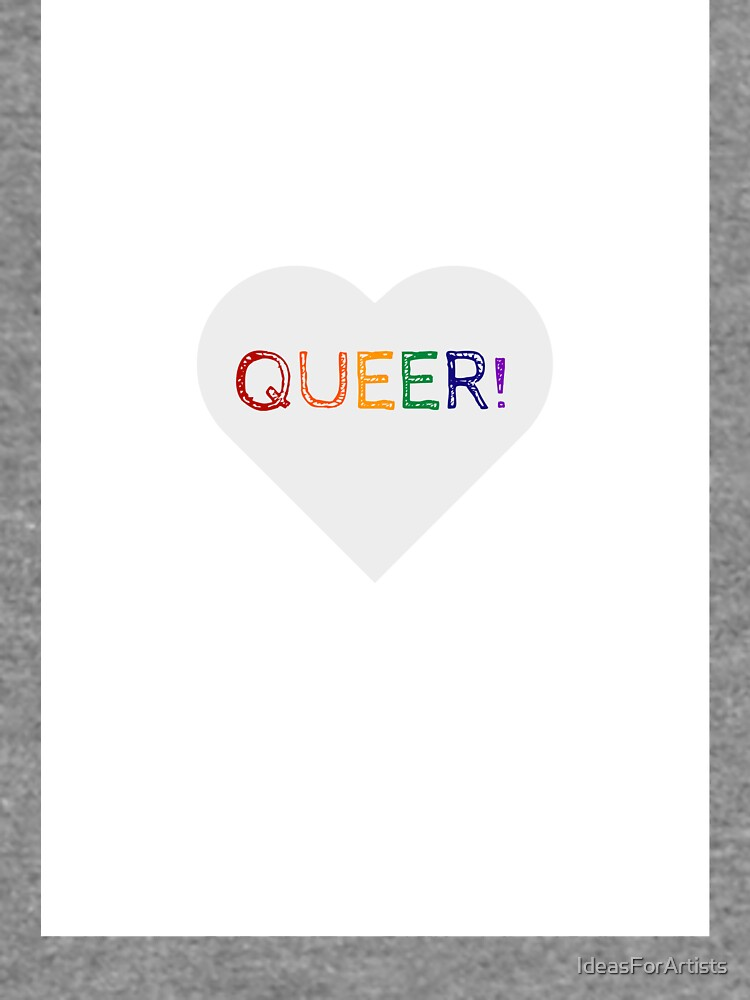 QUEER RAINBOW HEART by IdeasForArtists