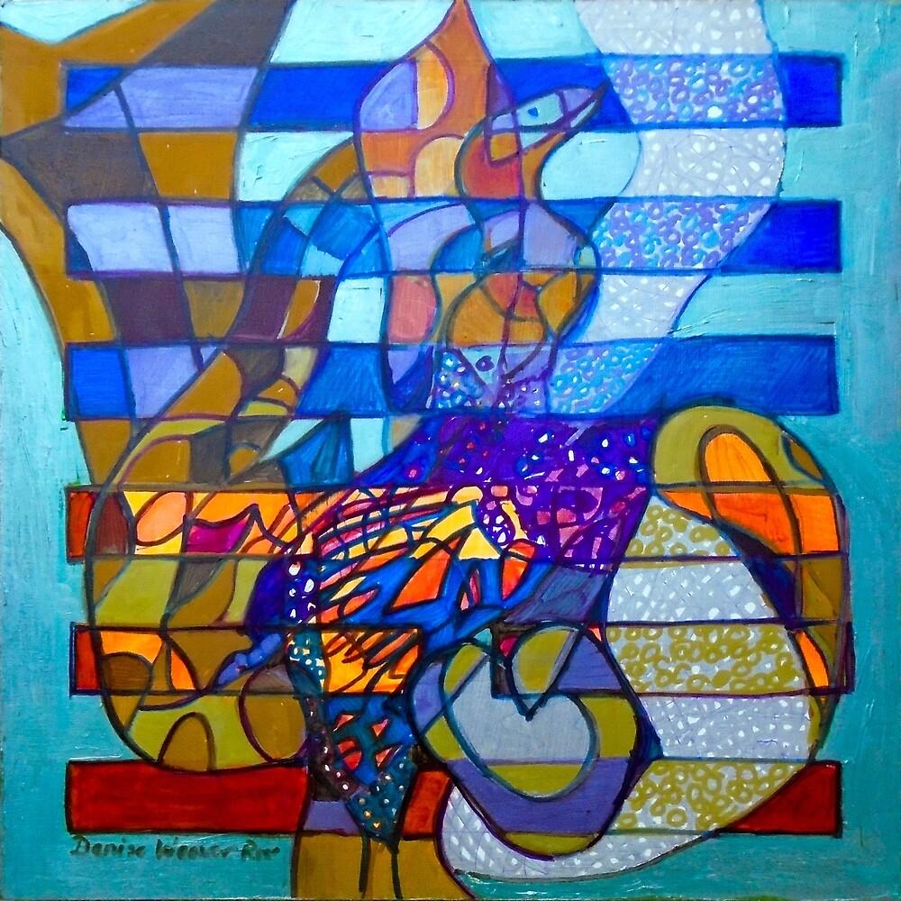 Hexagram 49: Gé (Transformation) by Denise Weaver Ross