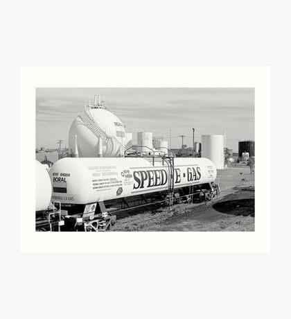 Industrial study - Newcastle Art Print