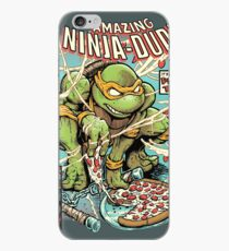 The Amazing Ninja Dude iPhone Case