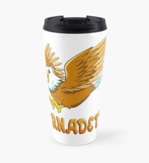 Bernadette Eagle Sticker Travel Mug