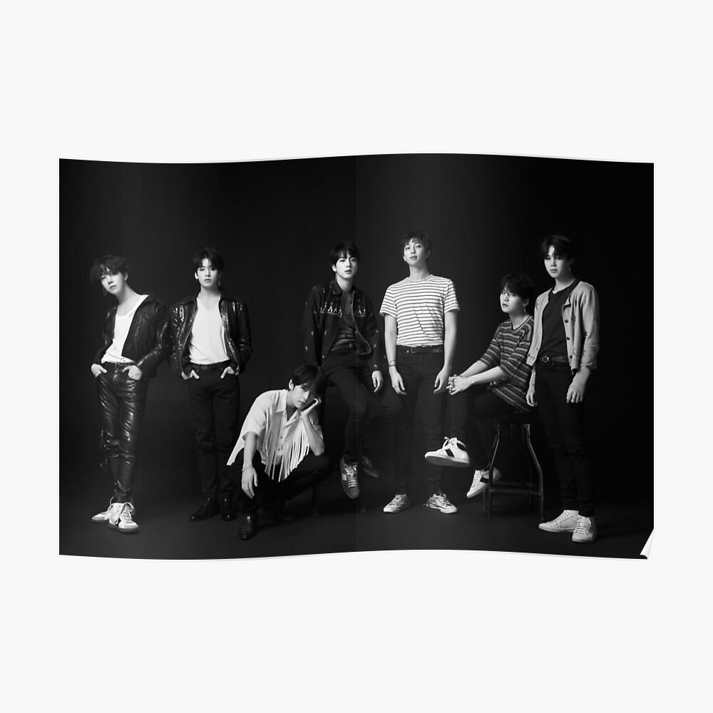 BTS FAKE LIEBE Poster