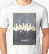 San Francisco California Skyline Unisex T-Shirt