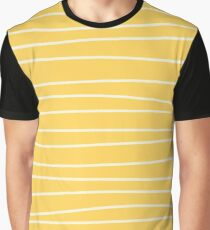 Sunshine Brush Lines Graphic T-Shirt