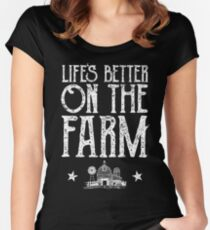 Farmer Women's Fitted Scoop T-Shirt