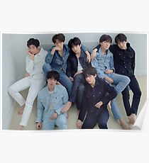 Póster BTS FAKE LOVE