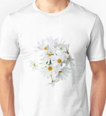 Wild white daisies Unisex T-Shirt