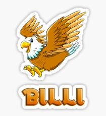 Billi Eagle Sticker Sticker