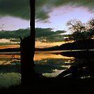 Lake montieth (Scotland) reflections by Kimberley Davitt