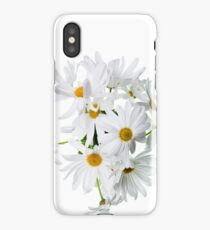 Wild white daisies iPhone Case