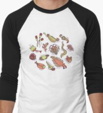 Cambrian Critters Men's Baseball ¾ T-Shirt