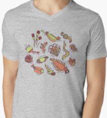 Cambrian Critters Men's V-Neck T-Shirt