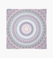 Heirloom Mandala in Pastel Pink, Green, Purple, and White Scarf