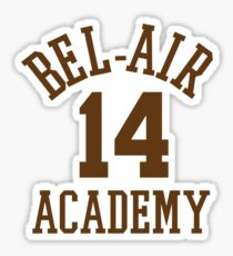 Fresh Prince of Bel-Air Basketball Jersey Sticker