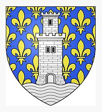 Coat of Arms of Niort, France Photographic Print