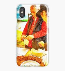 Cheese seller iPhone Case