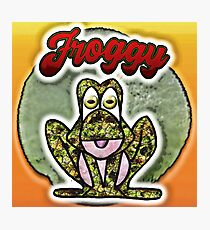 Froggy Photographic Print