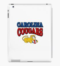 Carolina Cougars Basketball iPad Case/Skin
