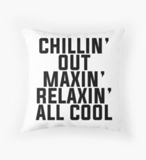 Fresh Prince of Bel-Air lyrics Throw Pillow