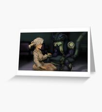 Komugi and Meruem Greeting Card