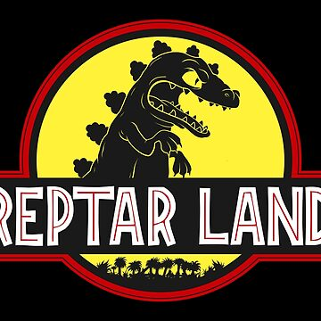 Reptar Land by JCoulterArtist