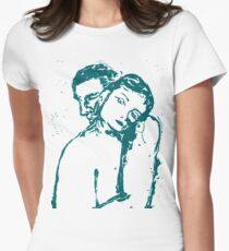 Elsewhere - torquoise Womens Fitted T-Shirt