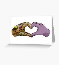 Infinity Heart Greeting Card