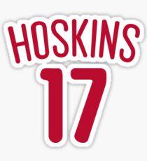 Rhys Hoskins Jersey Sticker