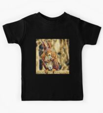 Squirrel on a branch Kids Tee