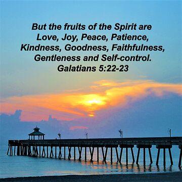 GALATIANS 5:22 FRUITS OF THE SPIRIT SUNRISE PHOTO by JLPOriginals