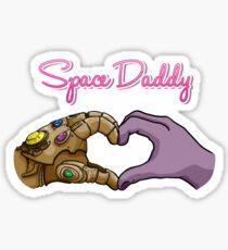 Space Daddy Sticker