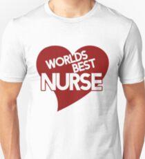 Worlds Best NURSE Unisex T-Shirt