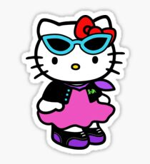 Hello Kitty punk rock Sticker
