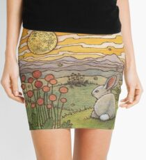 Bunny Sunset Mini Skirt