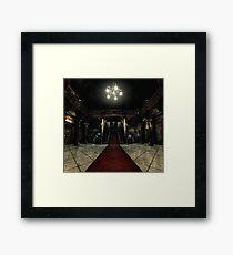 Resident Evil - Arklay Hall Framed Print